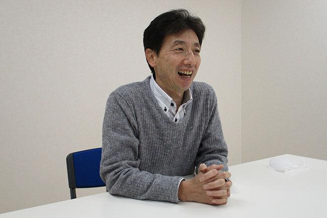 研修デジタル化の手応えについて語る古川知巳協議会事務局長