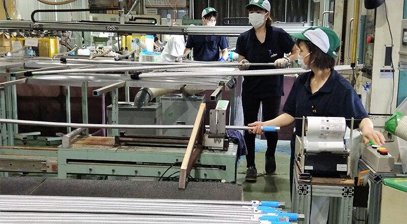 天井裏の配管をRFIDタグで「見える化」、万が一に対応 昭和螺旋管製作所(東京都・茨城県)